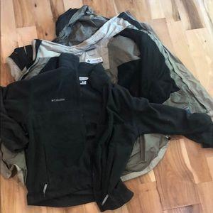 Columbia Men's 2-in-1 Waterproof Coat, Size Large